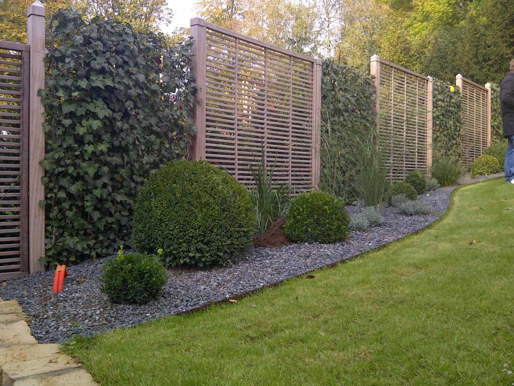 Hecke Zaun Sichtschutz Alex Gartenbau