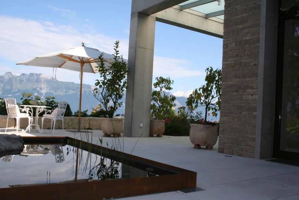 Terrasse Sitzplatz