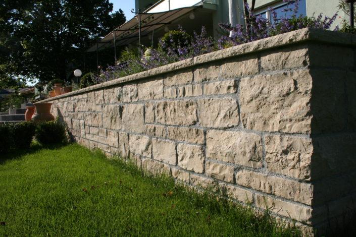 Wege Mauer Stiege
