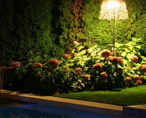 Gartenbeleuchtung in-lite Licht im Garten